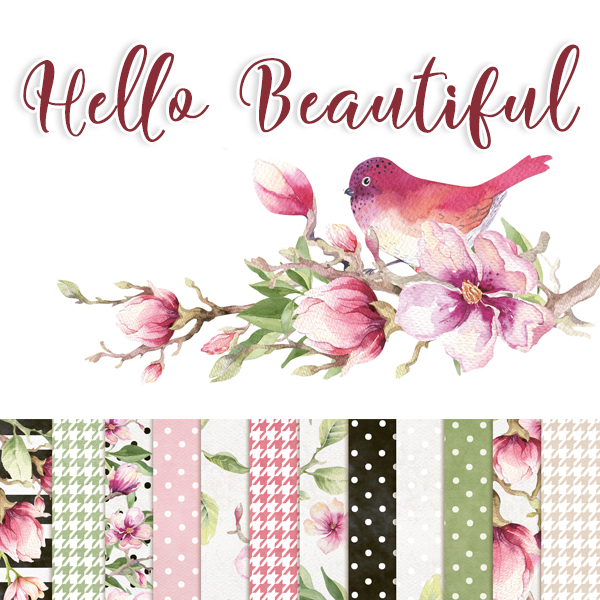 Hello Beautiful Scrapbooking Collection