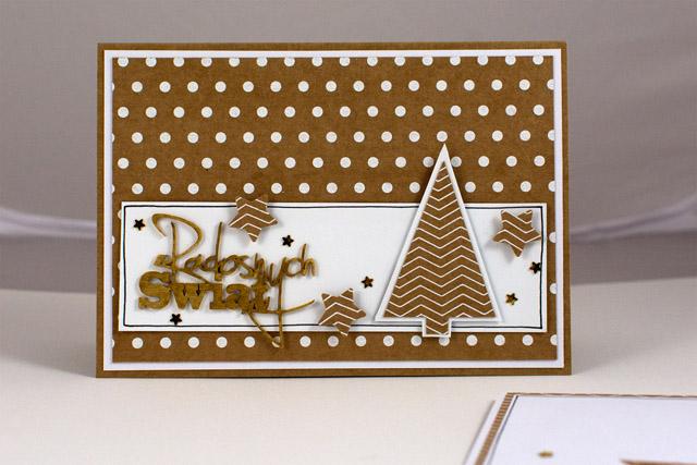 kartki świąteczne Serendipity White Piątek Trzynastego
