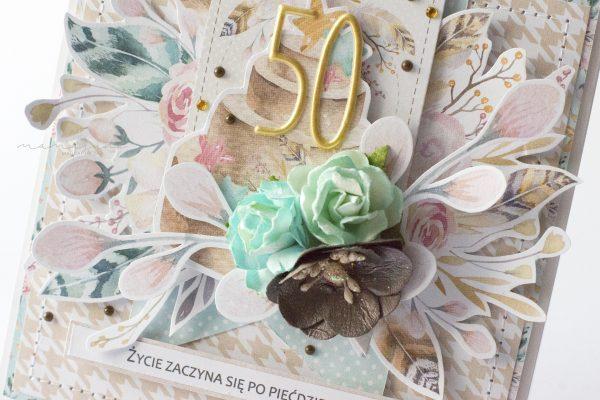 Sweet card 50th birthday