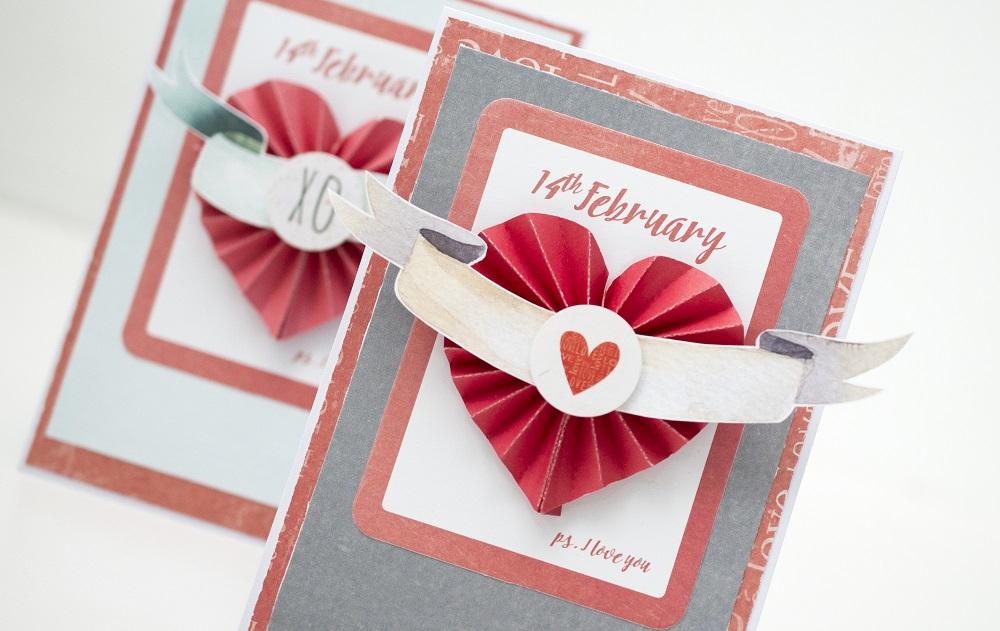 kartka walentynkowa - Kolory Miłości - Piątek Trzynastego