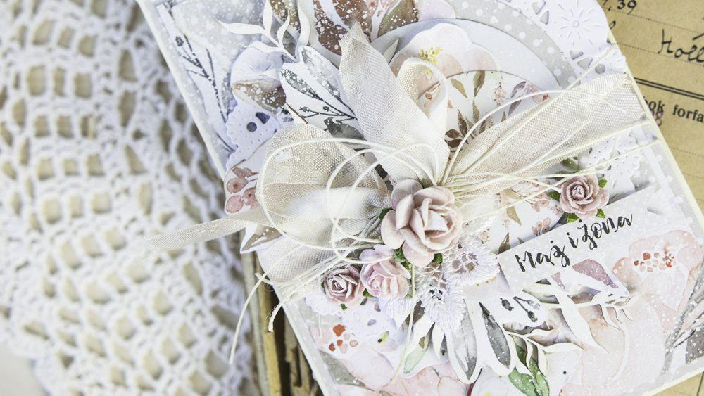 padoriaa - ślubna kartka - Love in Bloom - Piątek Trzynastego