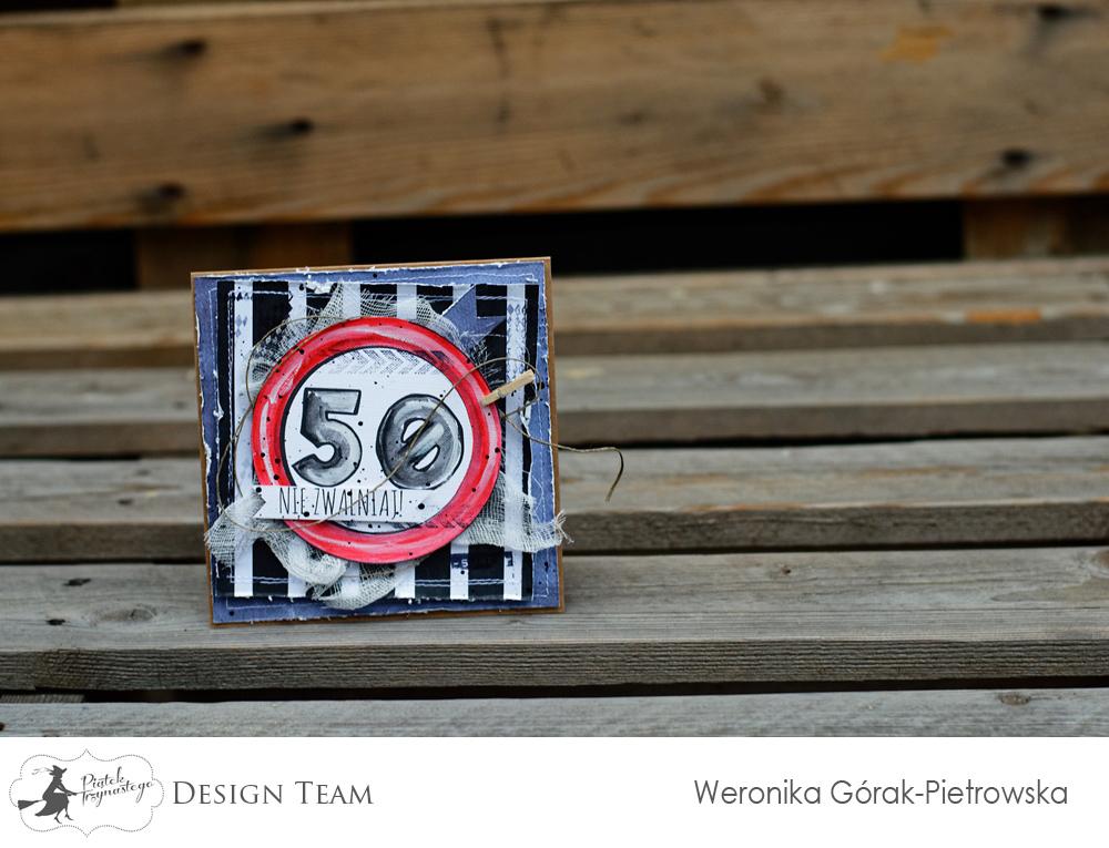 kartka na 50. urodziny - Werciakol - Piątek Trzynastego