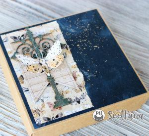postcard in a box